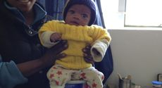 Child at Lifeline Clinic