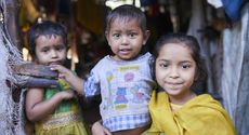 Street children in Kolkata