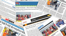 The popularity of iLEAD programme has been covered by many Indian newspapers.