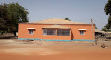 Newly reconstructed Casa de la Infancia with dual purpose as a health clinic and training centre.