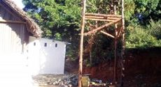 Construction of the free health clinic in Nosy Iranja