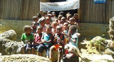 The project will help child healthcare beween villages