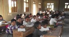 Inle Lake students